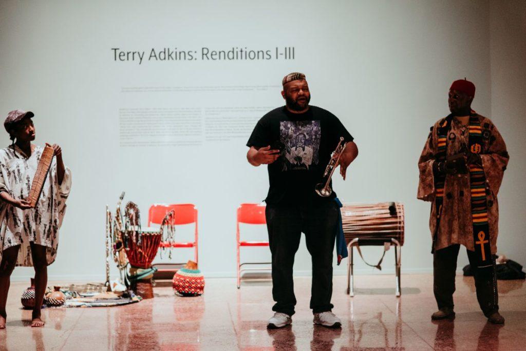 Terry Adkins: Renditions I-III